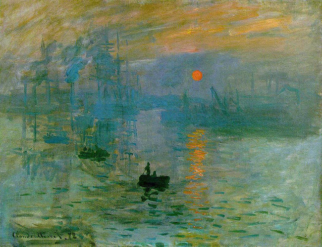 Claude Monet Impresja wschód słońca