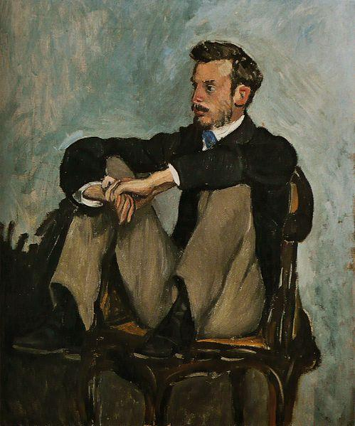 Frederic Bazille Auguste Renoir portret