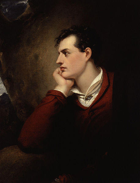 Richard Westall, George Gordon Byron - portret