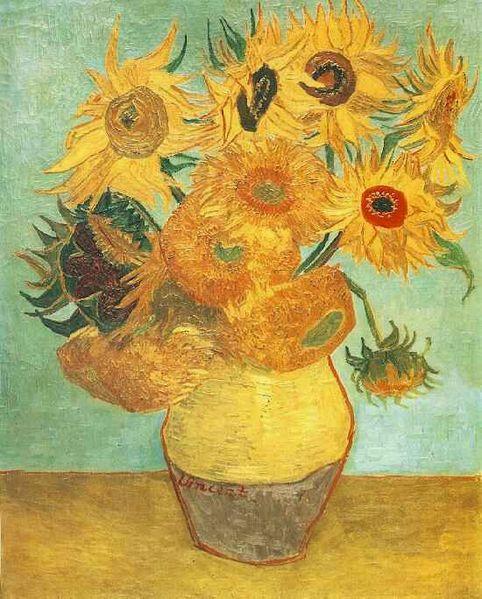 Vincent Van Gogh Słoneczniki Opis Interpretacja