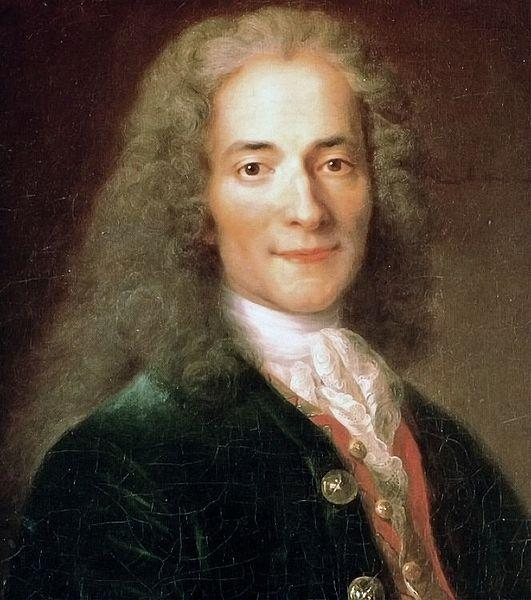 Catherine Lusurier, Portret Voltaire'a